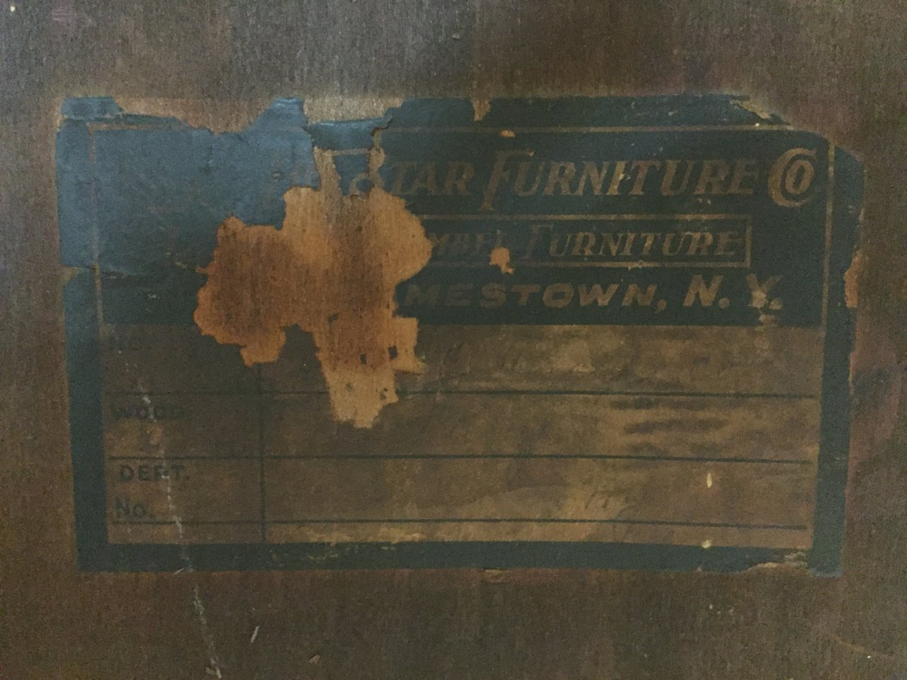 History Of Monitor Furniture Company Jamestown Ny Patio Furniture