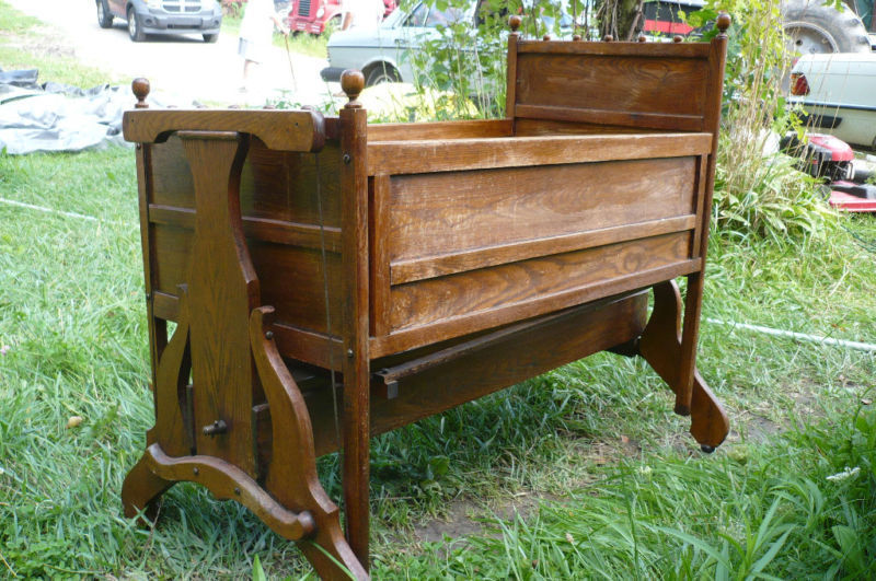 I Have An Old Wooden Cradle Made By The Lullabye Co It