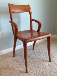 Danish Mid Century Modern Teak Chairs | My Antique ...