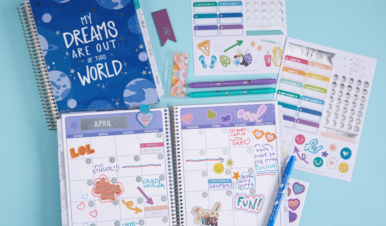 Office Supplies Caloundra Planners Notebooks Journals And Stationery Erin Condren