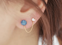 LilyFair Jewelry | Cute Bunny Two Hole Tassel Fashion ...