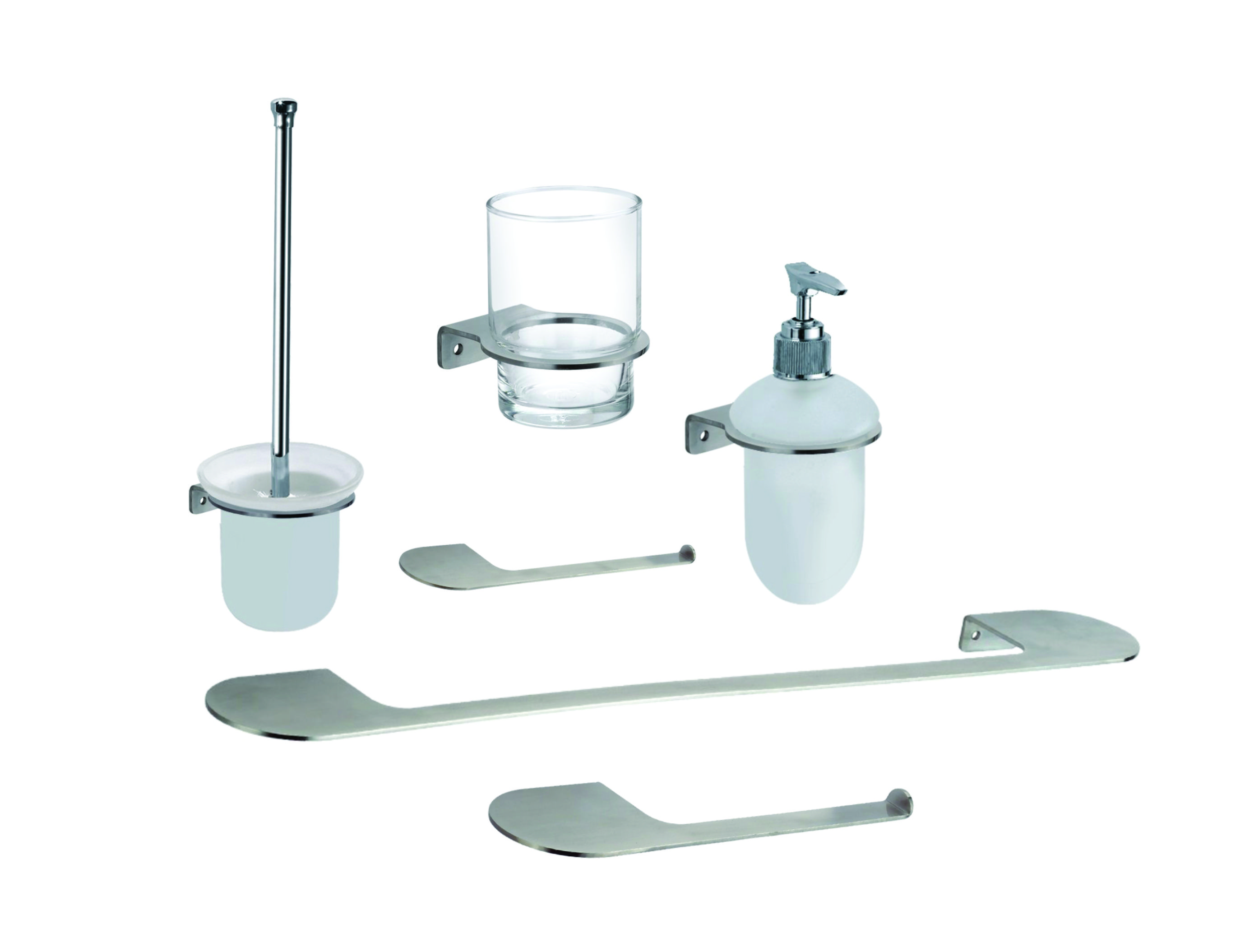 Bathroom Accessories Online Loft Complete Bathroom Accessories Serie Kit Made With Brushed Stainless Steel From Inoxia Be Part Of The X
