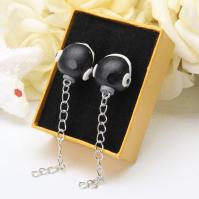 Chain Chomp Clay Earrings  Much Needed Merch  Online ...
