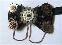 Steampunk Bow Tie on Storenvy