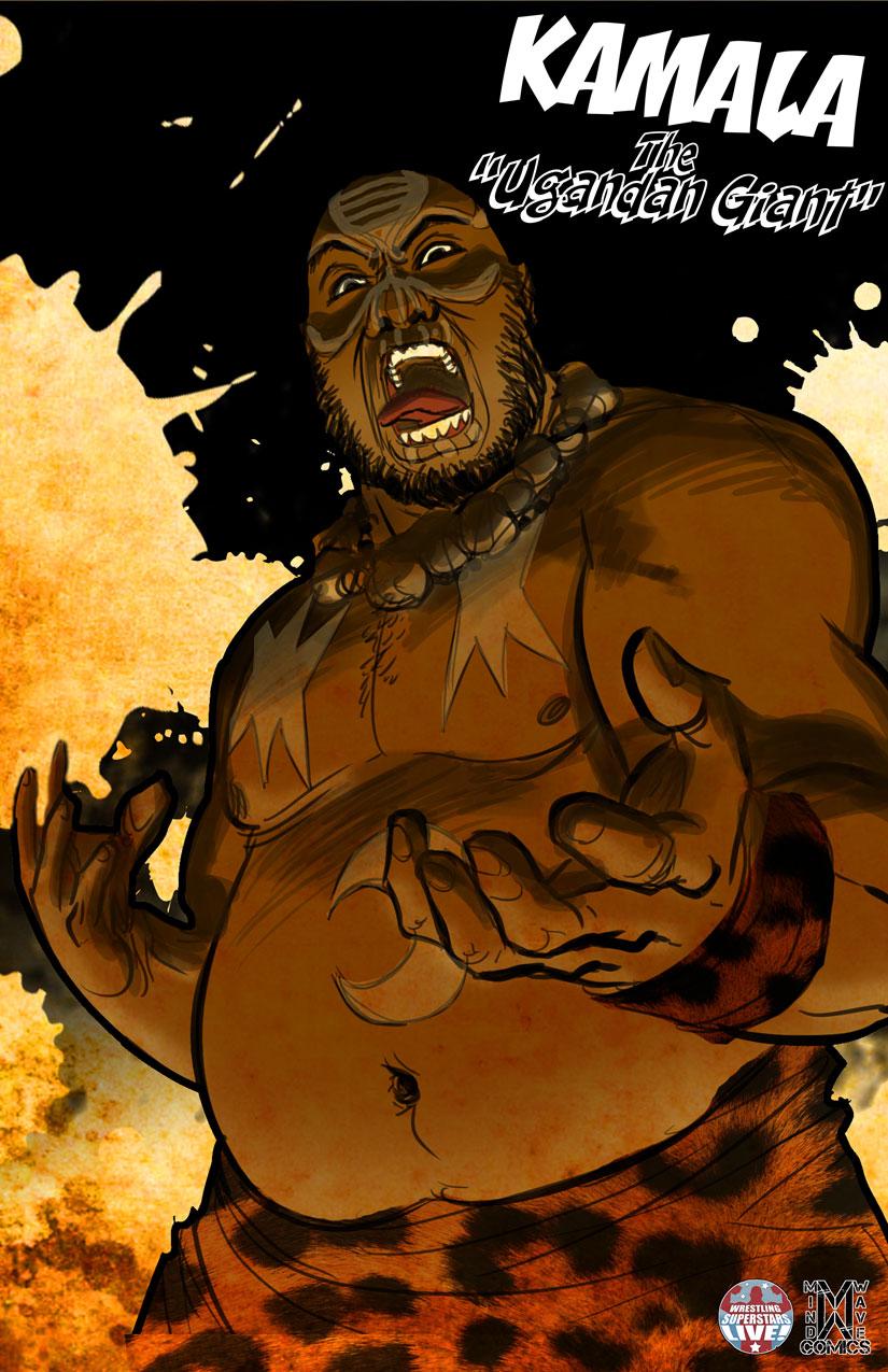 Kamala Quotthe Ugandan Giantquot Print On Storenvy