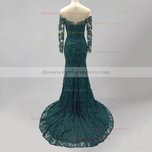 Medium Crop Of Dark Green Dress