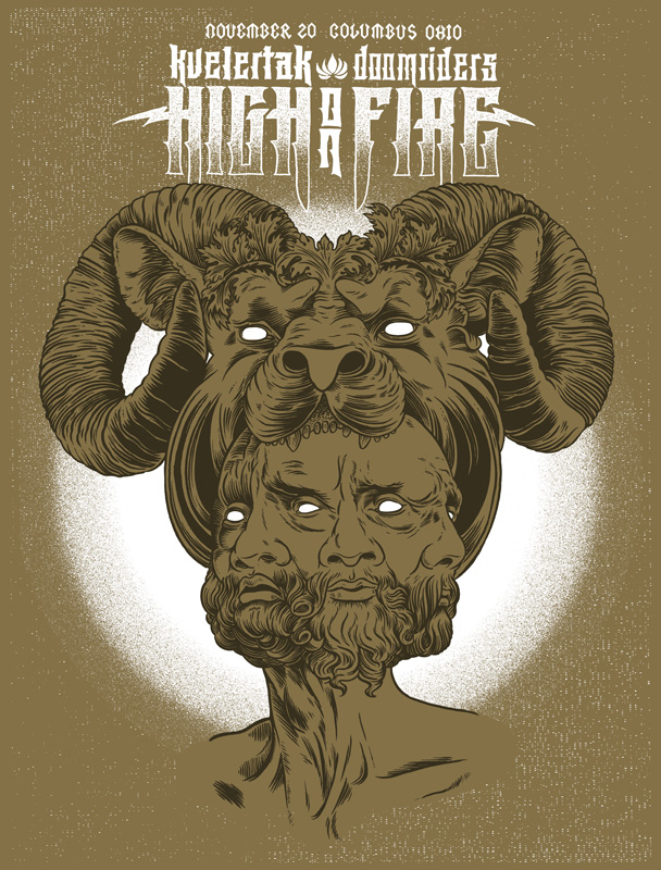 Craig Horky High on Fire Poster Online Store Powered by Storenvy - poster on line