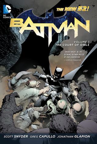 Batman, Vol. 1: The Court of Owls Books