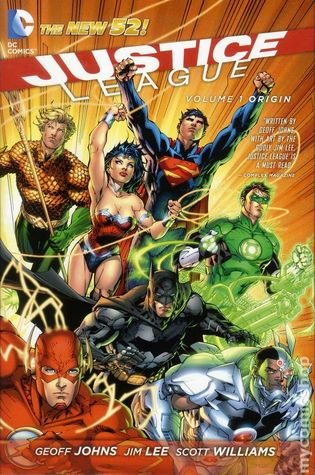 Justice League, Vol. 1: Origin Books