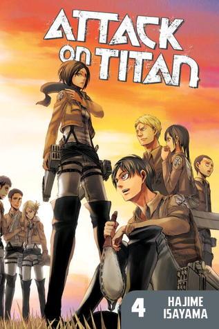 Attack on Titan, Volume 04 Books