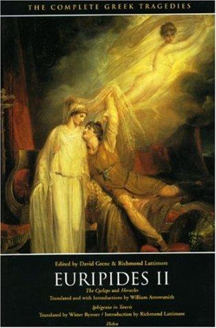 Euripides II: The Cyclops/Heracles/Iphigenia in Tauris/Helen Books