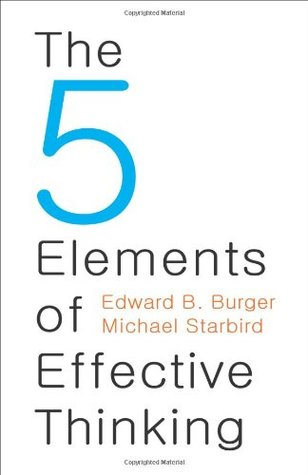 The 5 Elements of Effective Thinking Books