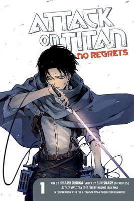 Attack on Titan: No Regrets, Volume 01 Books