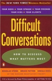 Difficult Conversations: How to Discuss What Matters Most Books