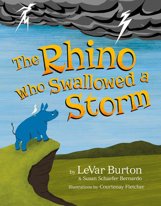 The Rhino Who Swallowed a Storm Books