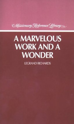 Marvelous Work and a Wonder Books