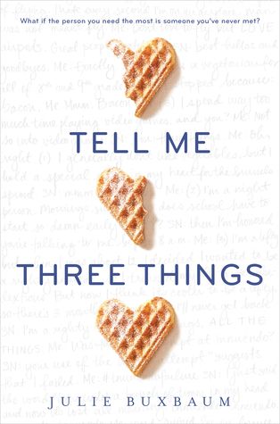 Tell Me Three Things Books