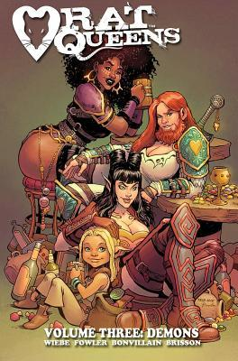 Rat Queens, Vol. 3: Demons Books