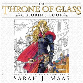 The Throne of Glass Coloring Book Books