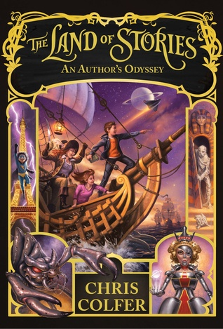An Author's Odyssey (The Land of Stories, #5) Books