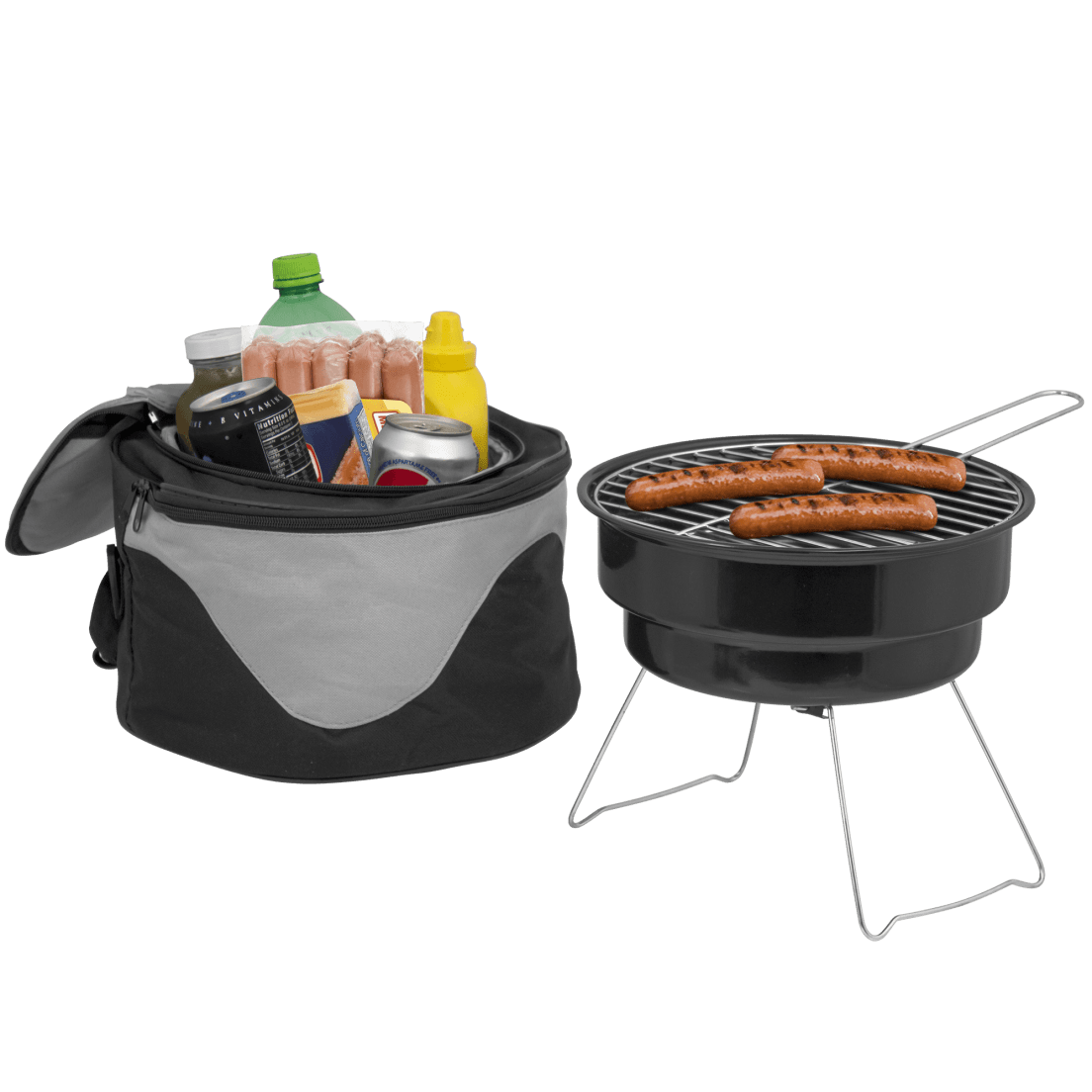 Small Barbecue Grill The Big Backyard Portable Barbecue Grill Cooler Bag