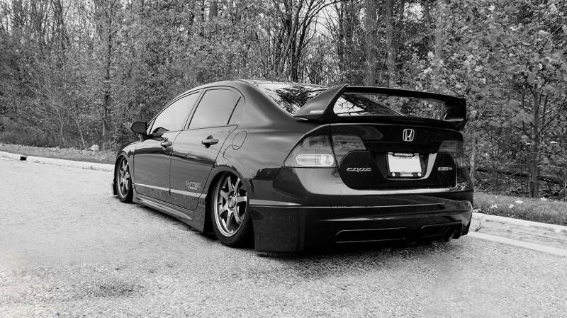 Airlift 8th Gen 06-11 Honda Civic / SI Performance Air Ride System