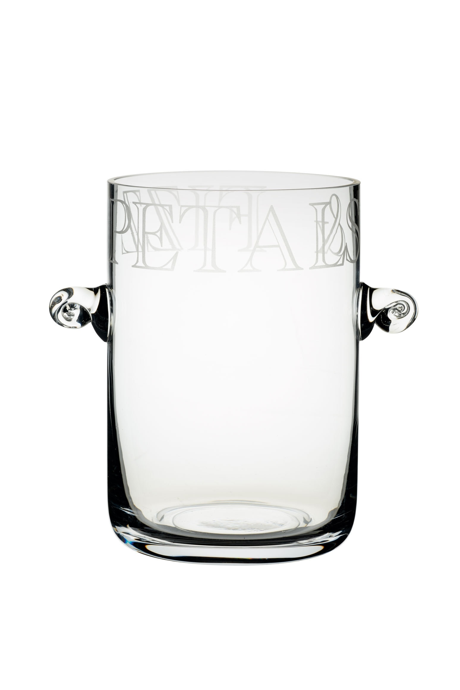 Glassware Drinking Artesà Glass Ice Bucket Vase Glassware Drinking