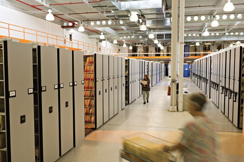 Medical File Storage Systems Bradford Systems