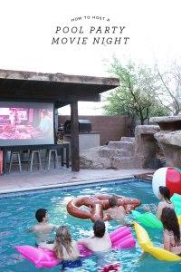 Pool Party Movie Night