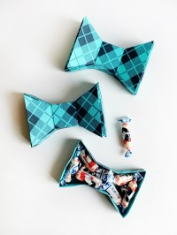 Printable Fathers Day Bow Tie Box