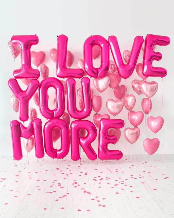 Giant Balloon Love Letter - Love Letter