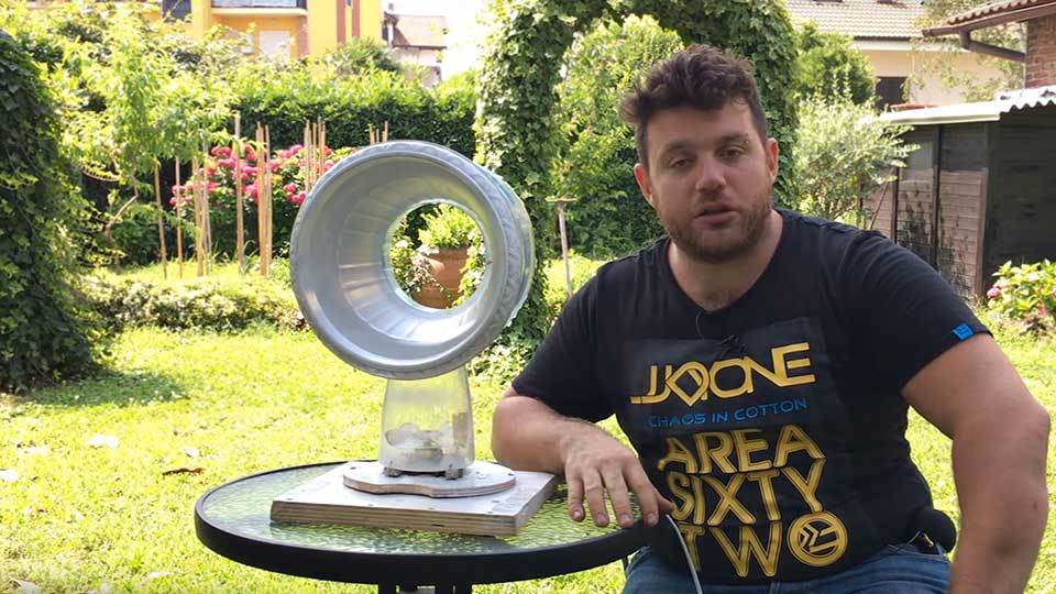 Dyson Airblade Guy Teaches You How To Diy A Dyson Bladeless Fan Using