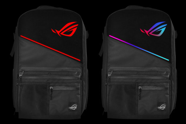 Ambient Lighting For Gaming Asus Takes Rgb Lighting Too Seriously, Puts It On Backpack
