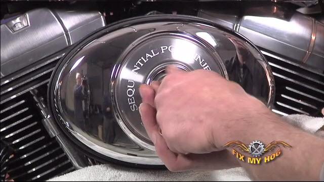 Harley-Davidson Air Cleaner Installation