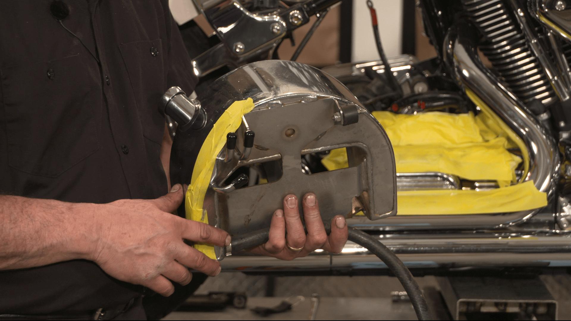 Harley Evo Softail Oil Tank Removal Fix My Hog