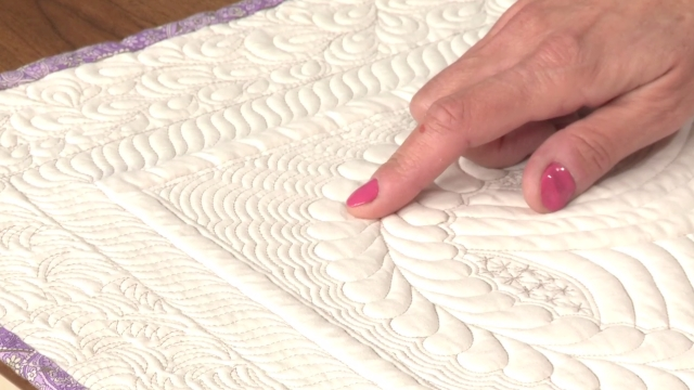 Quilt Binding Stunning Quilt Background Fillers And Stitches | National