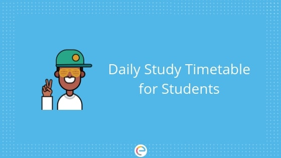 Daily Study Timetable for Students Know How to Set Your Timetable