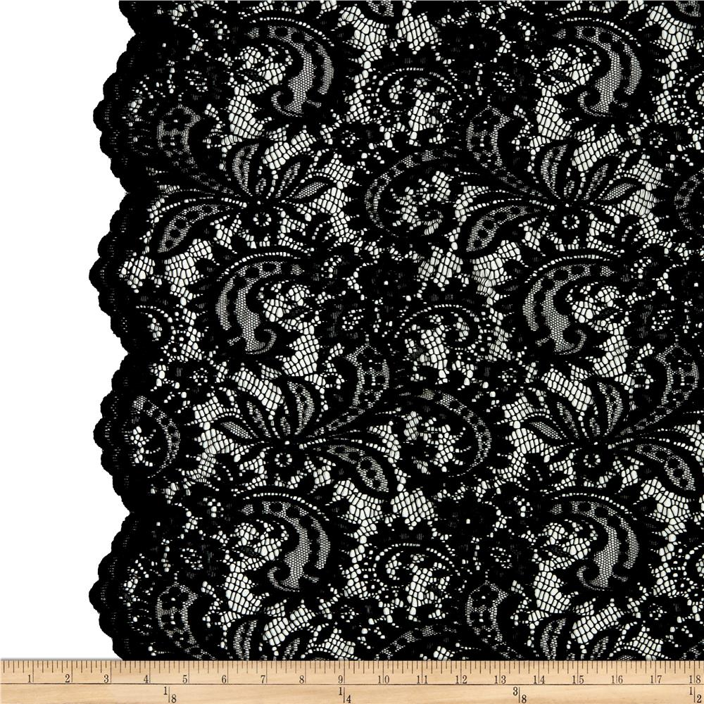 Silver Animal Print Wallpaper Lace Fabric Lace Fabric By The Yard Fabric Com