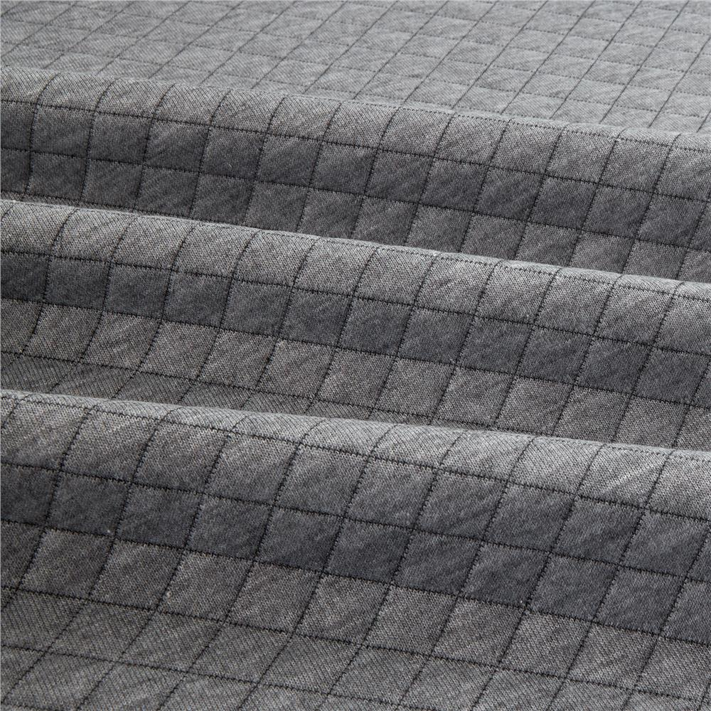 Quilted Fabric Telio Cozy Quilt Knit Grey