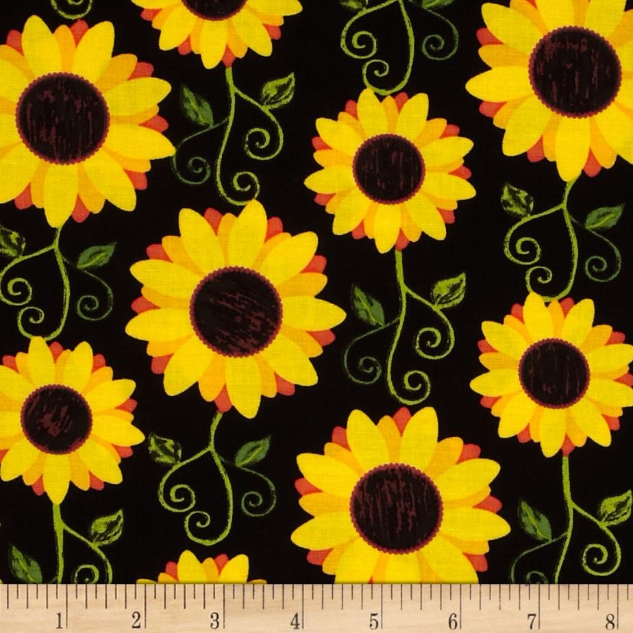 Orange Fall Wallpaper Kanvas Fall Festival Sunflower Delight Black Discount