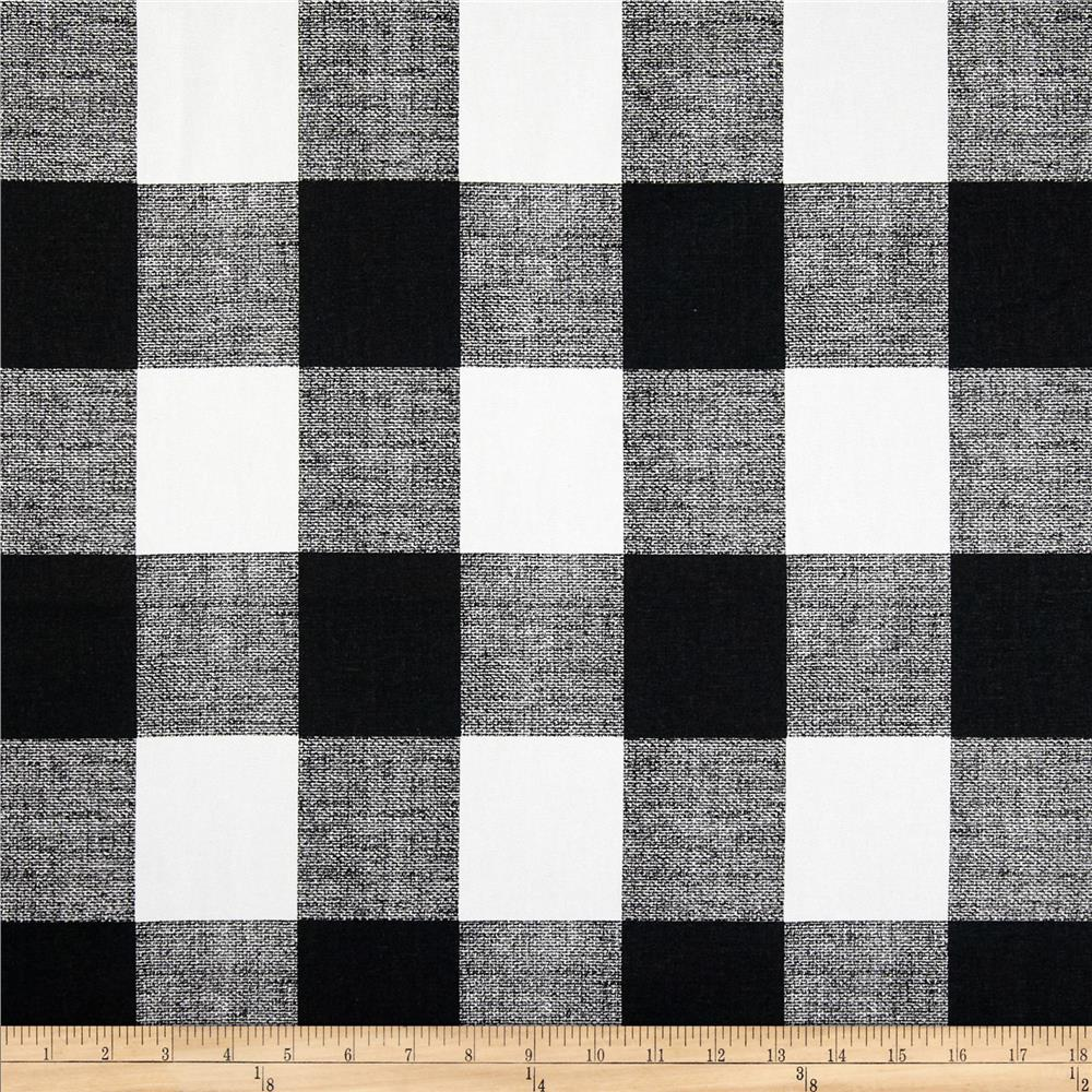 Grey And White Gingham Curtains Premier Prints Anderson Check Black White