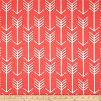 Premier Prints Arrow Coral - Discount Designer Fabric ...