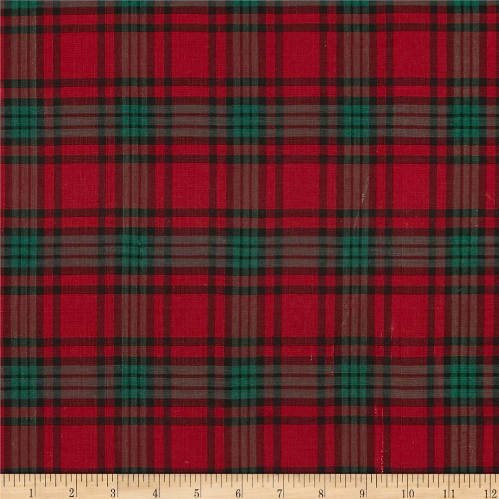 Cute Matching Computer Wallpapers Holiday Blitz Large Plaid Red Green Discount Designer