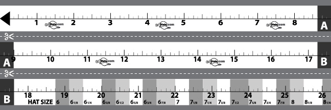 How to measure Hat, Cap and Head Size Free Shipping e4Hats