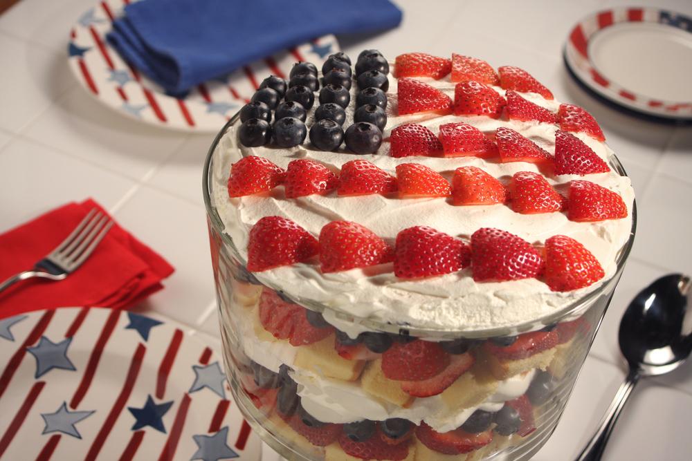 American Berry Trifle Mrfoodcom
