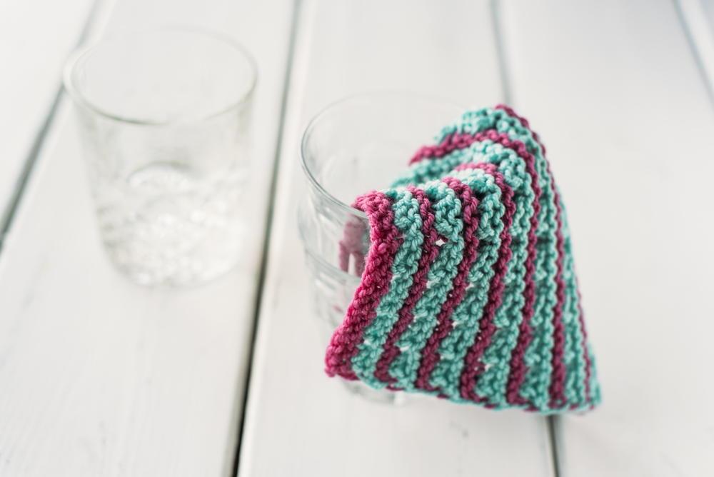 Incredibly Easy Knit Dishcloth Allfreeknittingcom