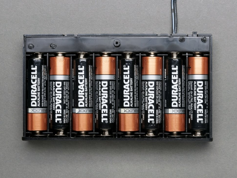 8 Aa Battery Holder With On Off Switch Thingbits Electronics