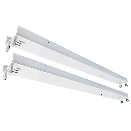 LED T12 8ft retrofit kit for converting 8ft fluorescent T12 tubes to 4ft