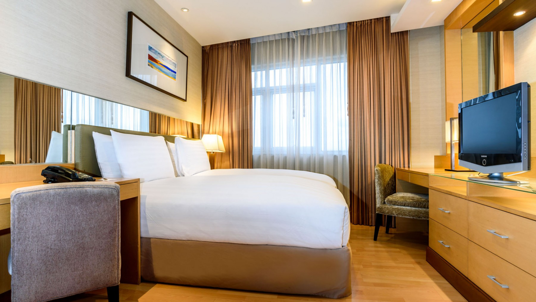 Hotel Bedroom Sizes Uk Deluxe Twin Beds Grand Sukhumvit Hotel Bangkok