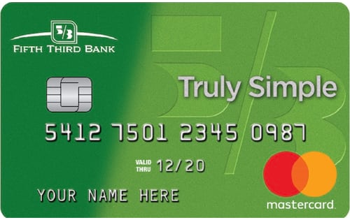 Truly Simple Credit Card from Fifth Third Bank Review - simple credit card calculator